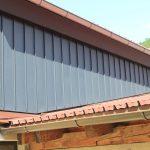 Fassadenverkleidungen in Winkelstehfalzsystem, schmale Ausführung