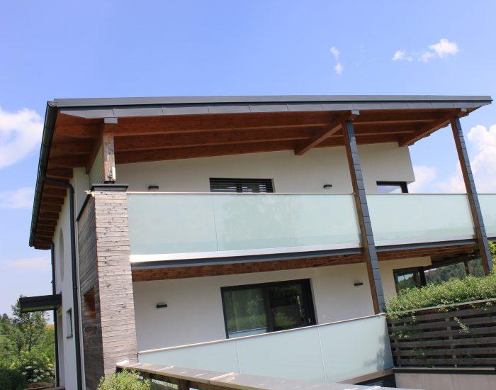 Spenglerarbeiten Einfamilienhaus Hofstetten, Grünsbach